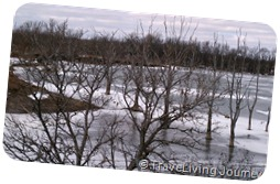 Frozen Lake along the way