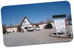 The campground at Carlsbad