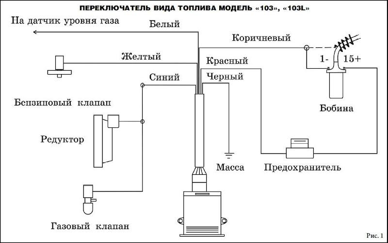 Переключатель in 3 регулировка инструкция гбо