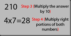 Multiply up to 20 x 20 in your head
