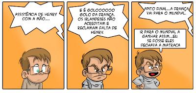 A versão cartoon do Manu vista pelo próprio