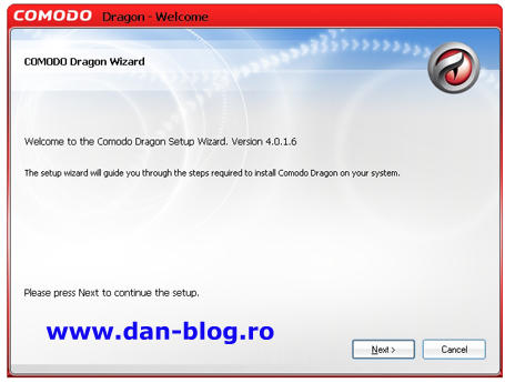 COMODO Dragon Browser 01 Comodo Dragon Internet Browser