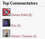 top commentators Top comentatori