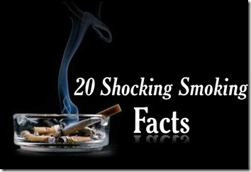 20 Shocking Smoking Cigarette Facts ~ The Awesome Facts