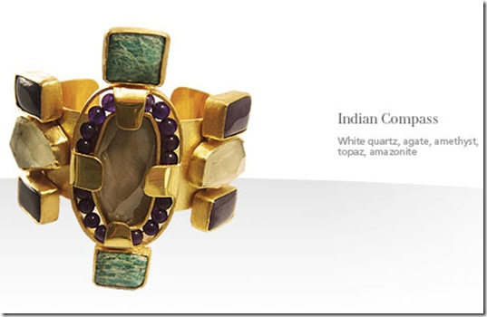 joyce makitalo indian compass cuff