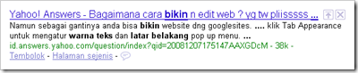 Tips SEO Struktur Judul Blog - Judul Posting