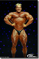 jay cutler front lat spread pose