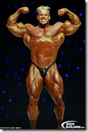 jay cutler double bicep pose