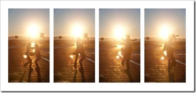 sunset catch