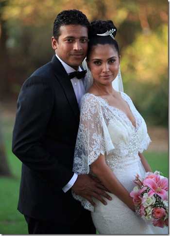 Lara Datta Mahesh bhupati Marriage wallpapers,Photos