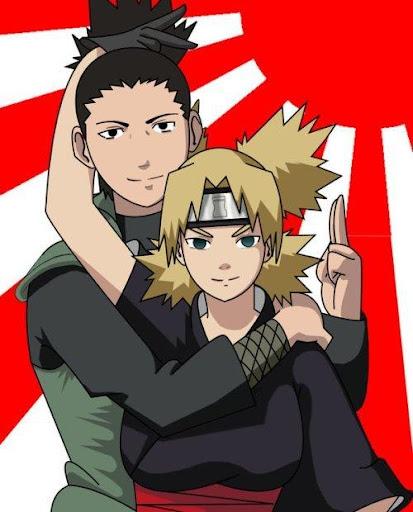 Shikamaru and Temari Top Wallpaper