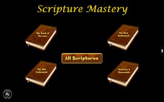 Screenshot of LDS Scripture Mastery Pro