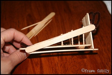 The creative crate popsicle stick sled ornament party What to make out of popsicle sticks