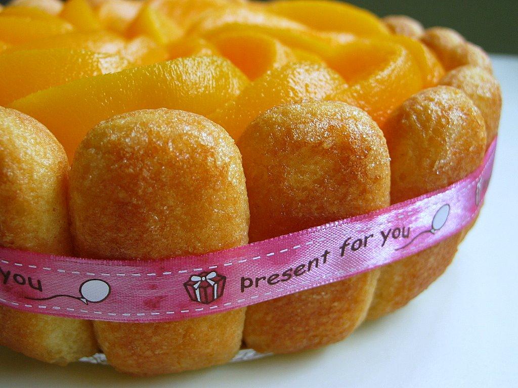 Fruit Charlotte Cake Recipe