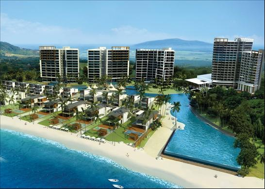 Phuphatara Residence and Marriott Hotel and Spa Development Plan Illustration
