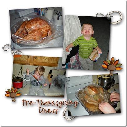 Pre-Thanksgiving copy