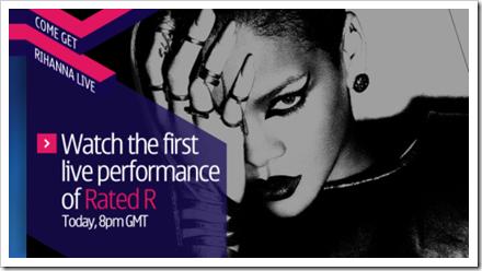 Rihanna-e-Nokia