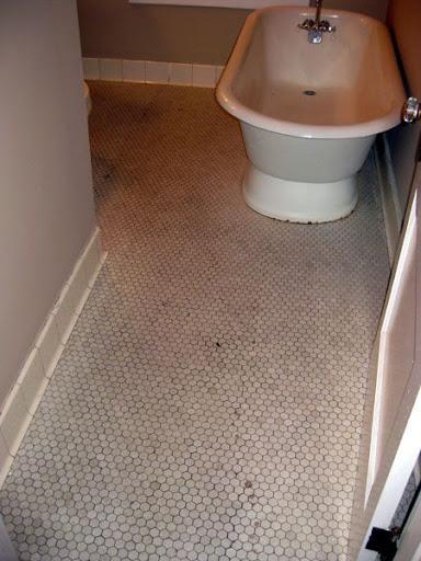 Bathroom Tile Repair hex tile repair or replace?