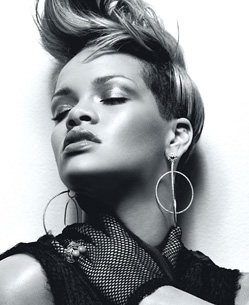 The Forehead's photo shoot for W magazine