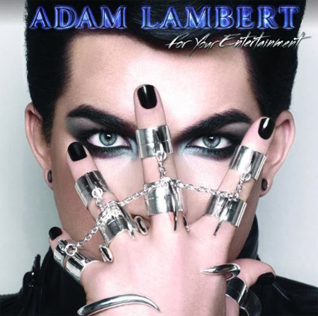 Album art: Adam Lambert's 'For your entertainment'