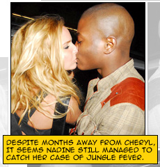 Nadine gots that jungle fever from Cheryl [by Random J ;P]