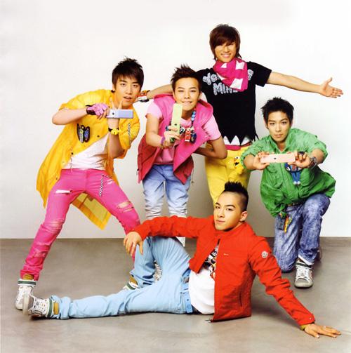 Big Bang's Lollipop promotion shot in Vogue girl