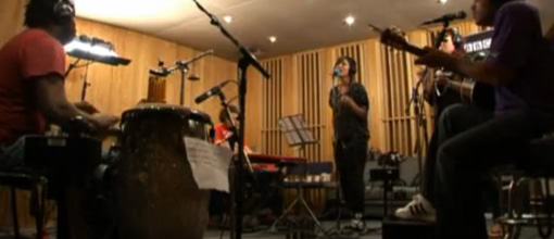 Keri Hilson's Radio 1 live lounge sessions: Energy & Supernova