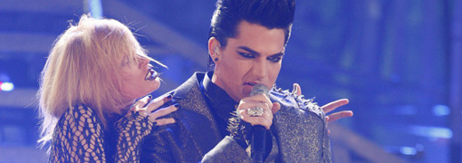 Adam Lambert's performance at the 2009 American music awards