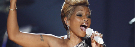 Mary J. Blige's performance at the 2009 American music awards