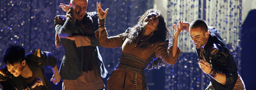 Janet Jackson's performance at the 2009 American music awards