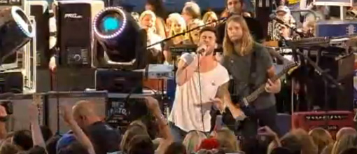 Maroon 5's debut performance of 'Misery' at The Today show | Live performances