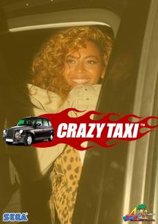 Beyoncé's crazy taxi | 'shopped by J ;P