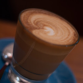 It's latte time by Bianca Smith - Food & Drink Alcohol & Drinks ( milk, coffee, drink, cafe, caffe, latte )