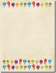 free printable notepad