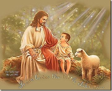 Jesús ama a los niños y a todos nosotros