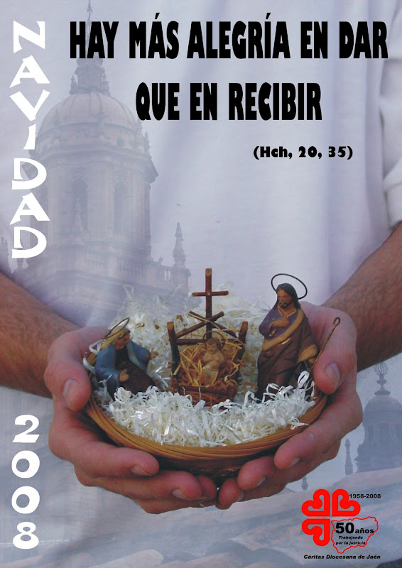Campaña de Navidad de Cáritas Jaén