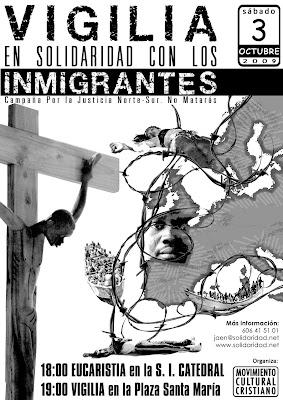 Movimiento Cultural Cristiano: Vigilia en solidaridad con los inmigrantes
