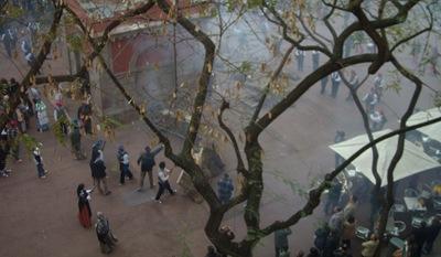 La revuelta de las Quintas, Barcelona