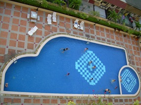 piscina de Anastasia, Bangkok