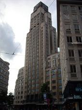primer rascacielos de Europa, Amberes