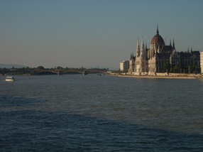 Danubio y Parlamento, Budapest