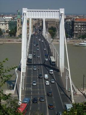Puente Erzsébet, Budapest