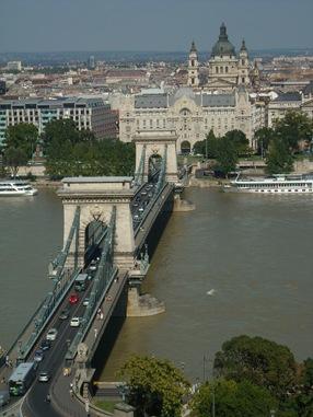 Puente Széchenyi, Budapest