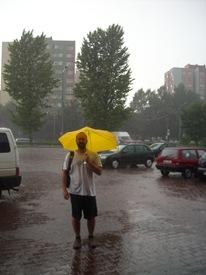 ¡Viva mi paraguas de Brno! Breslavia