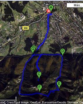mi ruta por los alrededores de Zakopane