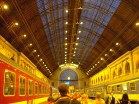 Estación Keleti, Budapest