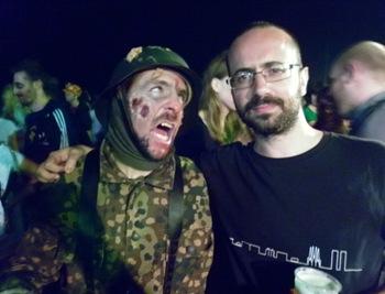 soldado nazi zombi en Sitges