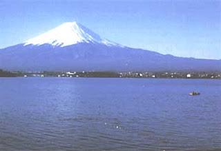 lake kawaguchi mount fuji