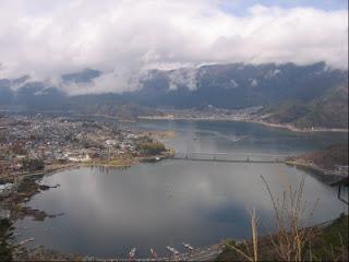 kawaguchi view from top