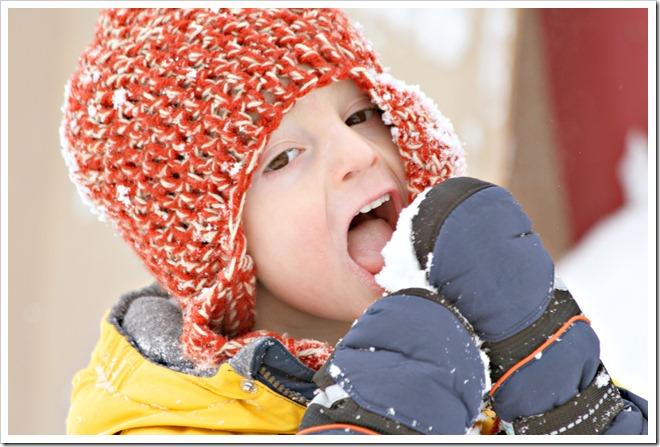 Miles in Snow